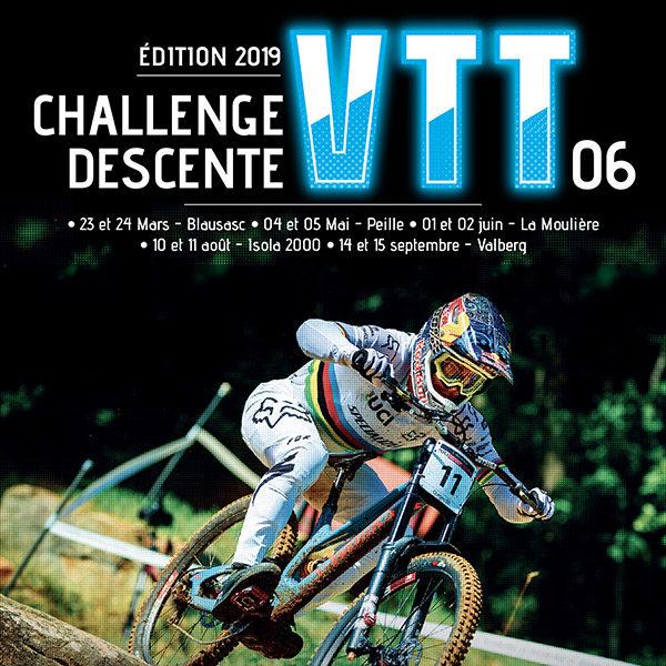 Résultats: DH Valberg 2019 (finale Challenge Descente)