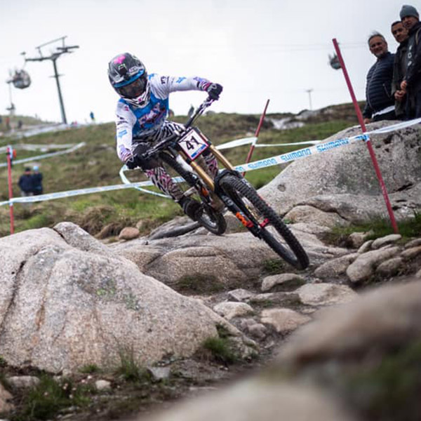 Prouesses azuréennes: World Cup DH Fort William 2019