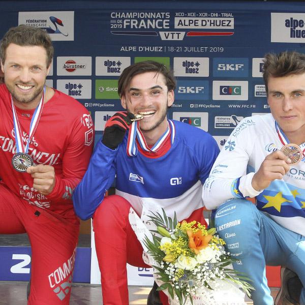 Prouesses azuréennes: 5 titres aux Chpts de France 2019
