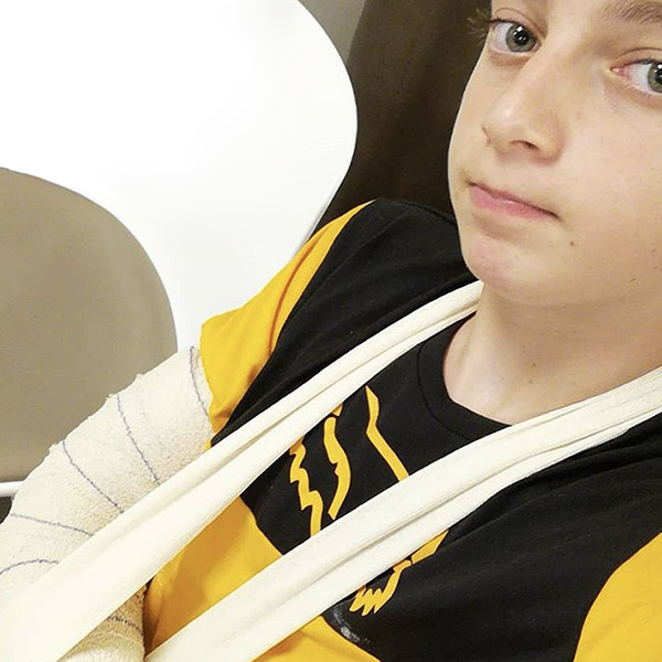 Blessure: Coup dur pour Hugo Marini (fracture poignet)