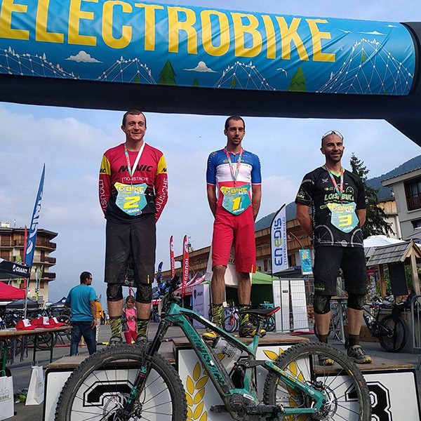 Résultats: Electro Bike Auron 2019, Mega Kid, Mega Daddy
