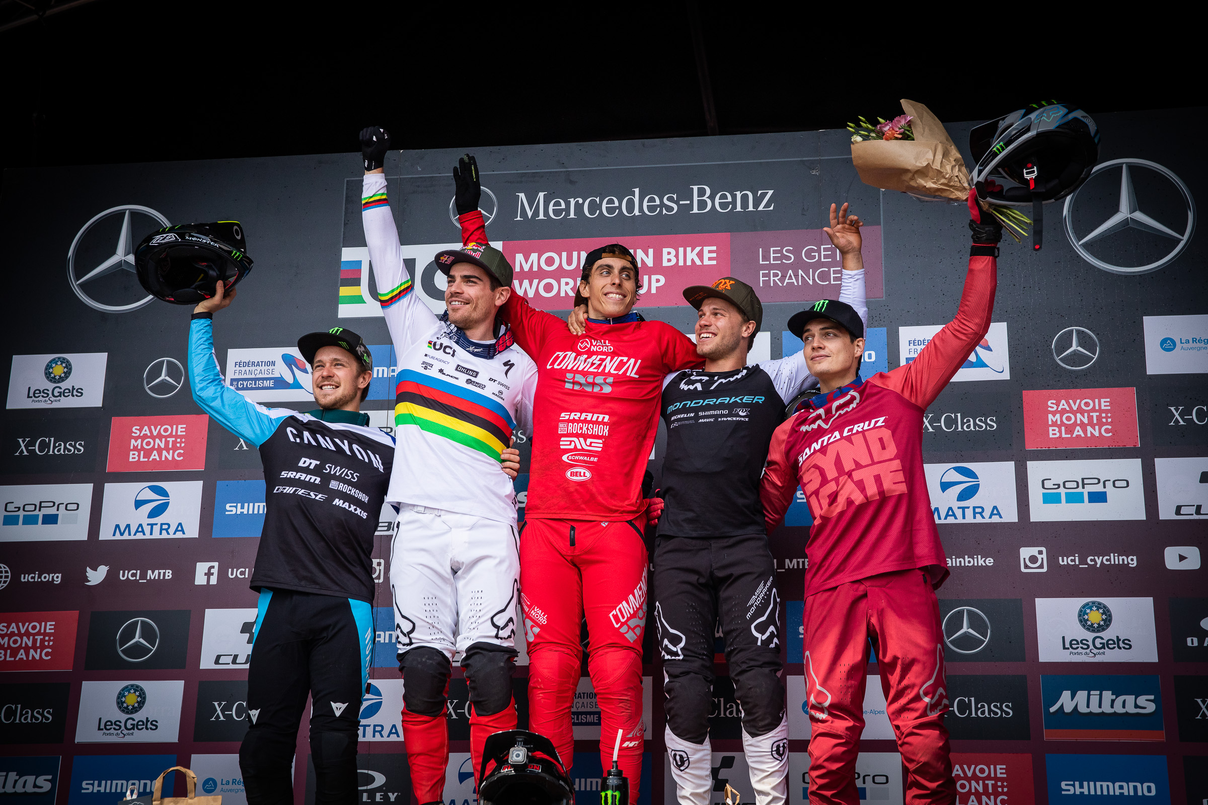 world cup dh les gets 2019 podium 1