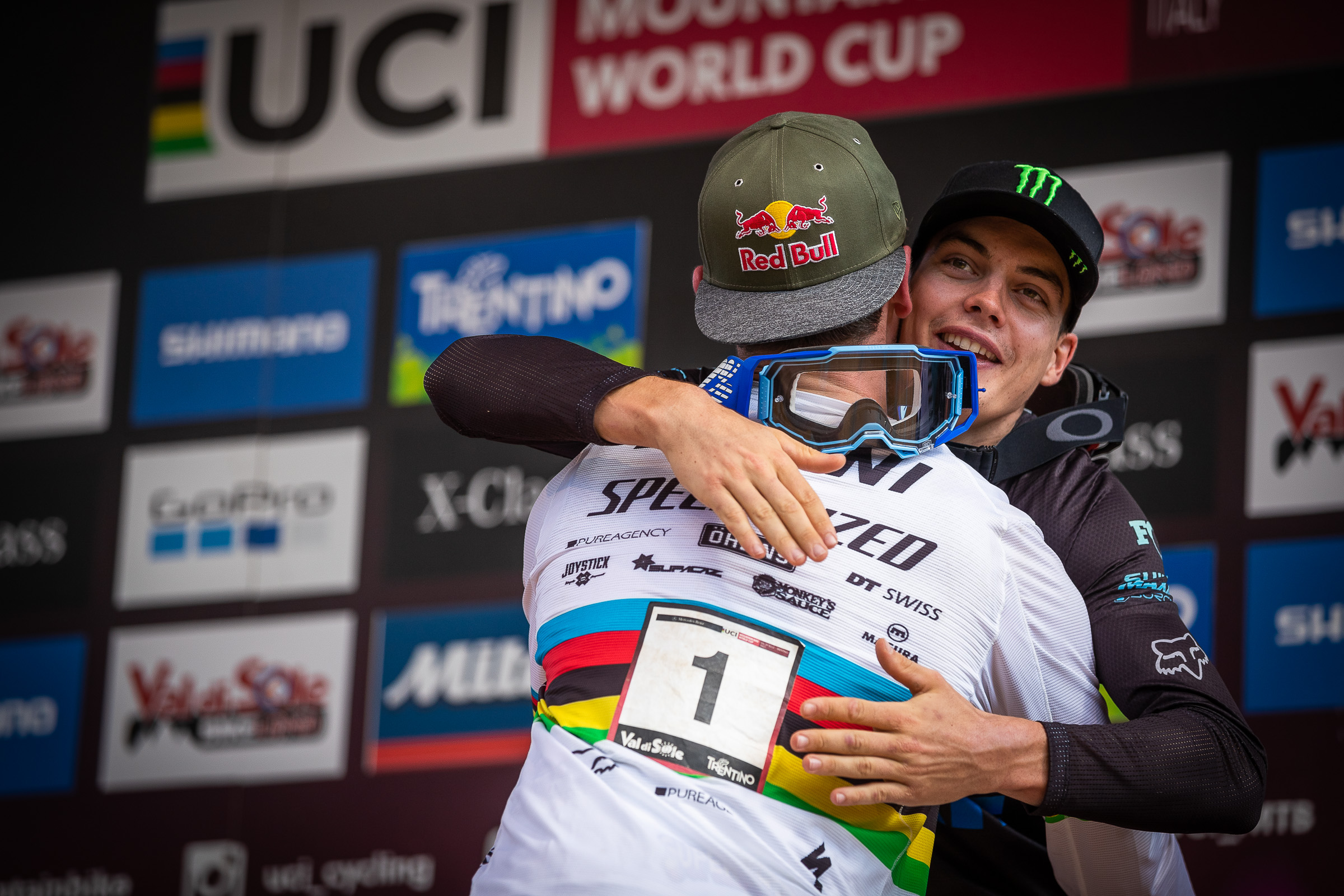world cup dh val di sole 2019 bruni vergier