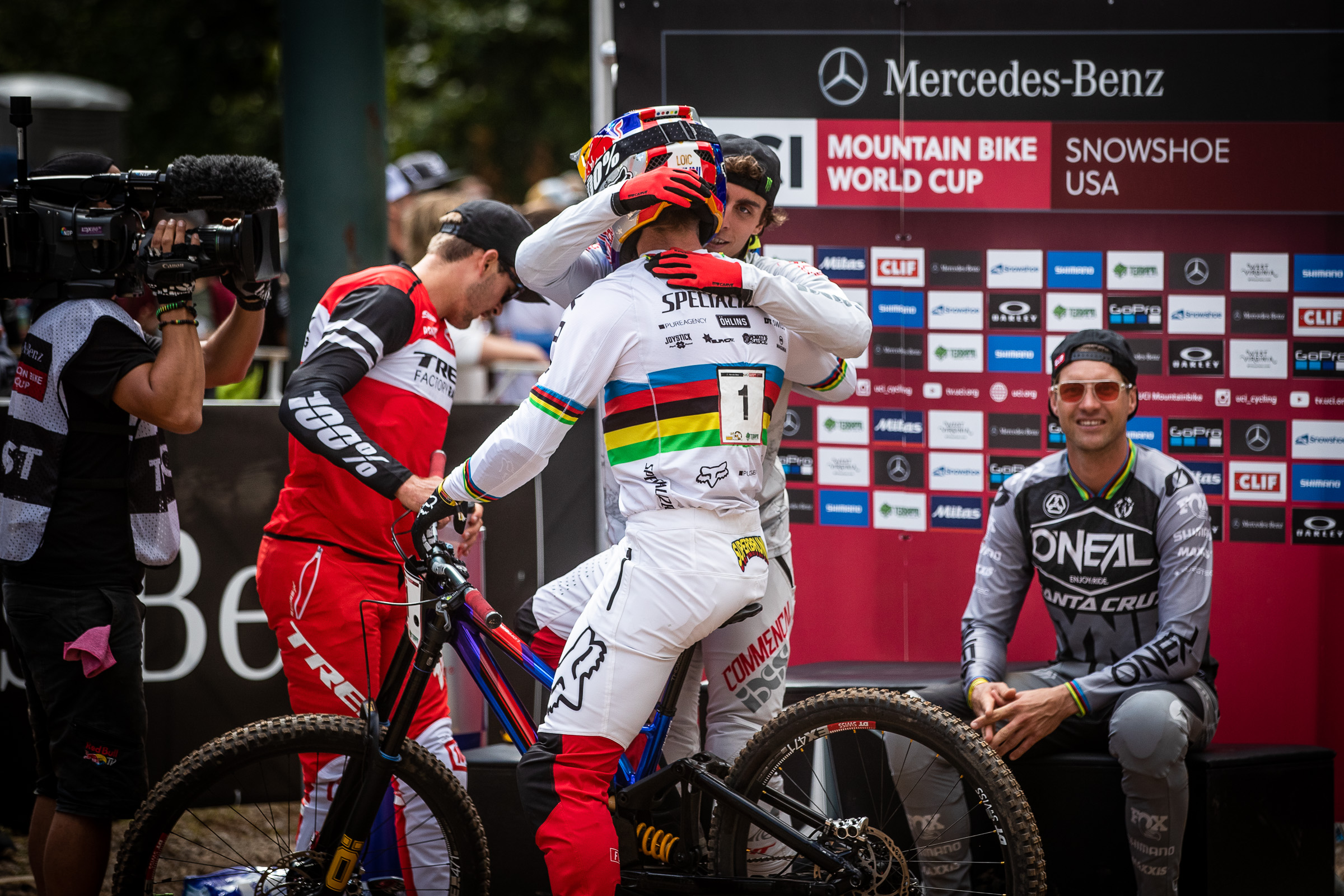 world cup dh snowshoe 2019 bruni pierron