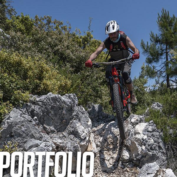 Portfolio: Hommage et pilotage sur le mt Chauve