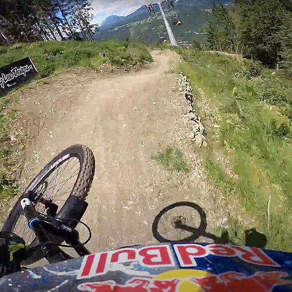 Vidéo: GoPro Loic Bruni sur la piste de Schladming