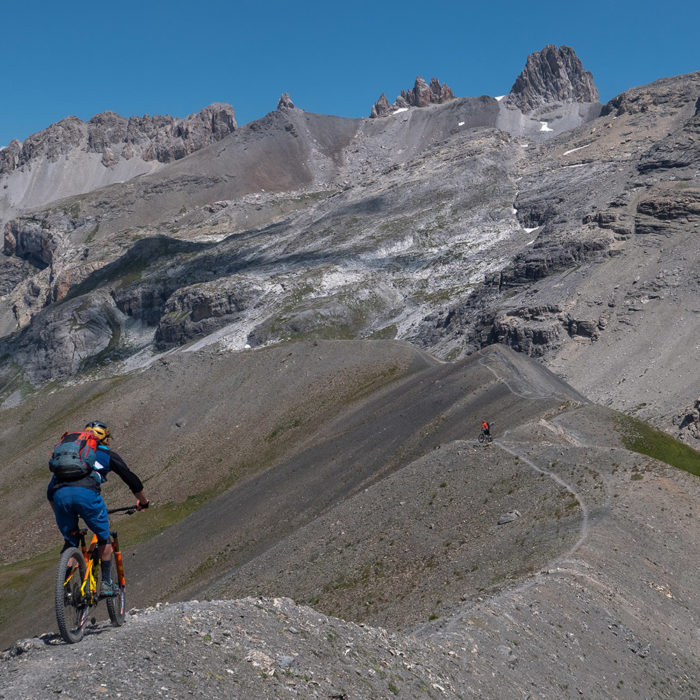 Trip VTT 3000 dans les Alpes