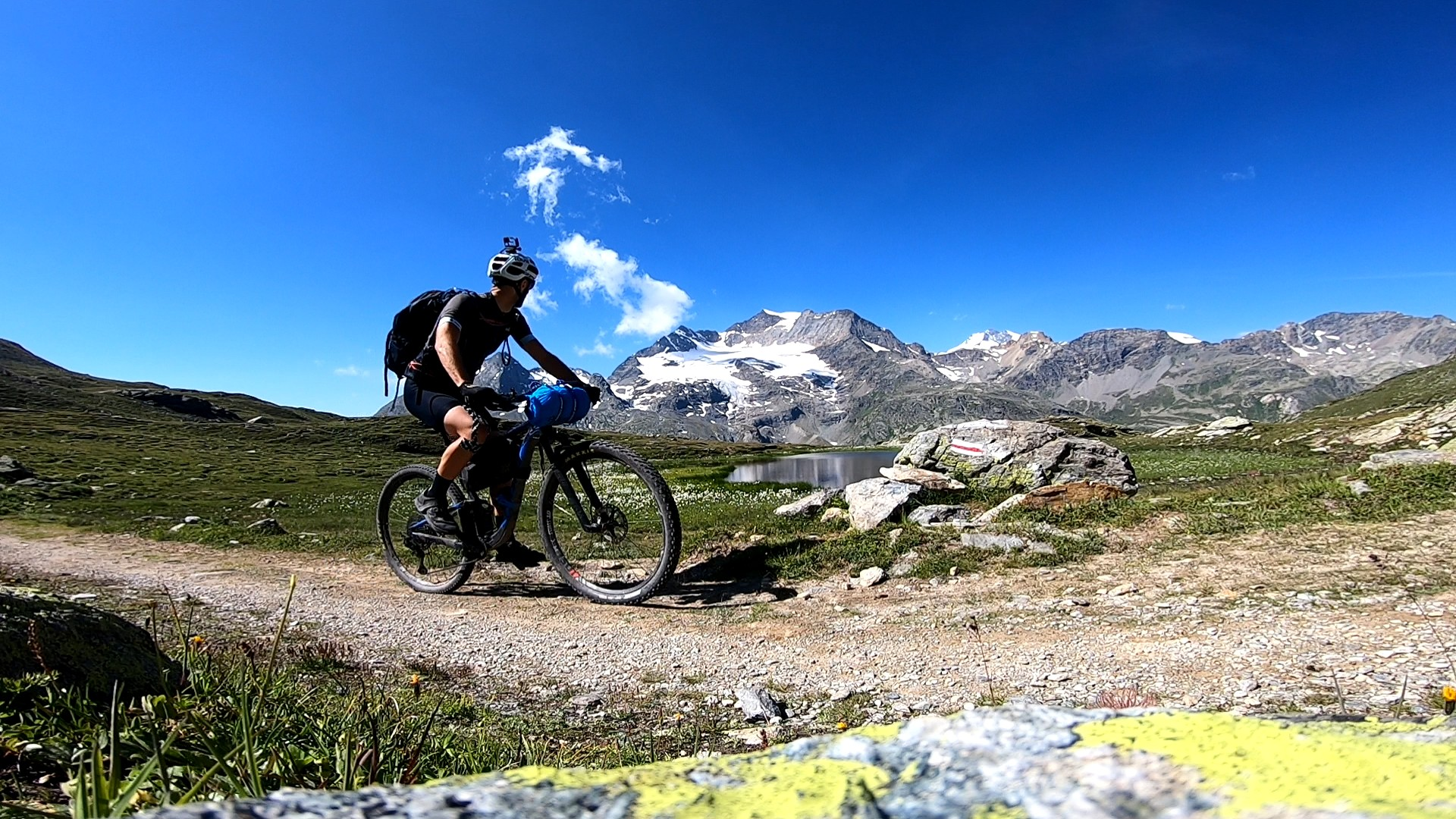 Glacier avant St Moritz