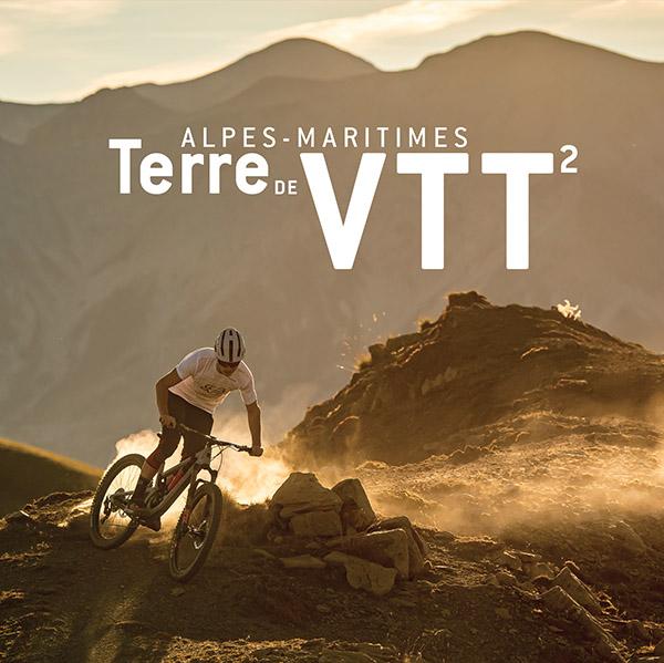 Nouveau livre: Alpes-Maritimes Terre de VTT tome 2