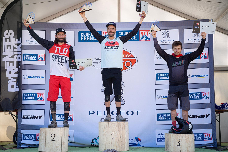 vouilloz podium championnats france enduro loudenvielle 2020