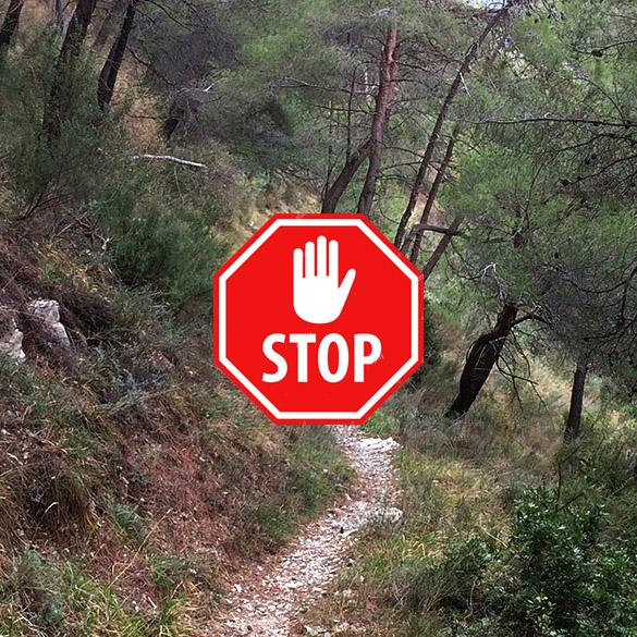 Interdiction d'accès aux massifs & Annulation Merveilles