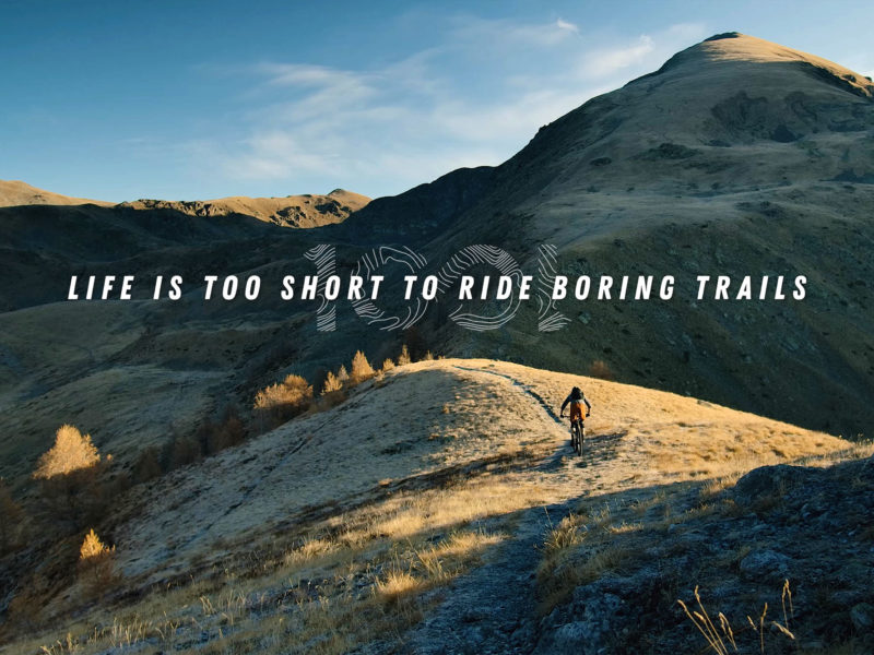 Life is too short to ride boring trails